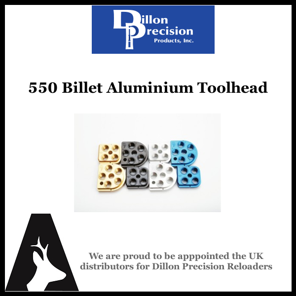 Dillon Precision 550 Billet Aluminum Toolhead – NewAvon Arms